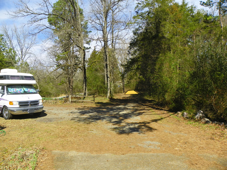 Area where I would like to install an RV pad..